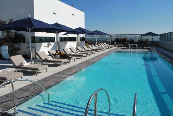 リッツカールトンロサンゼルスのプール2