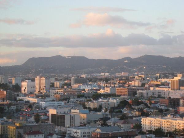 リッツカールトンロサンゼルスからの眺め