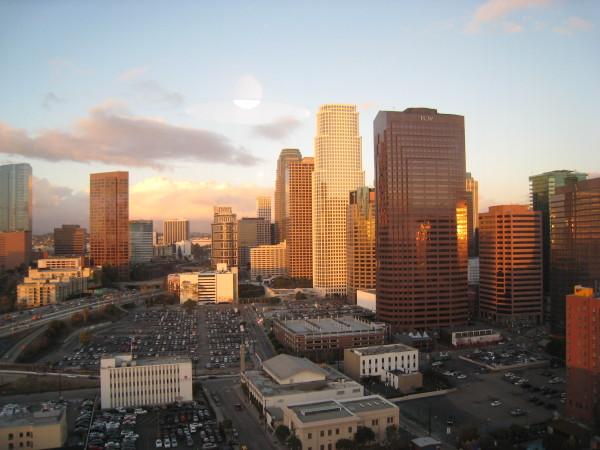 リッツカールトンロサンゼルスからの眺め2