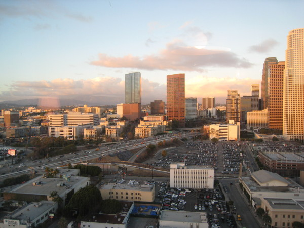 リッツカールトンロサンゼルスからの眺め3