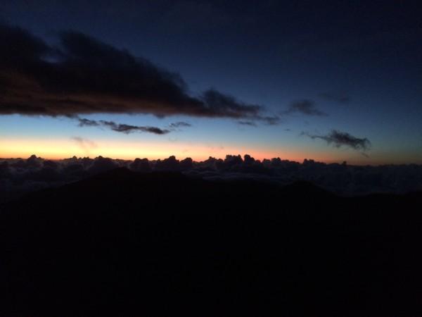 ハレアカラ山頂に到着!