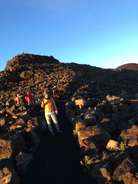 ハレアカラのショートハイキング