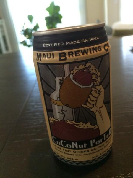 Maui Brewing(マウイブリューイング)のCoconut Porter(ココナッツポーター)