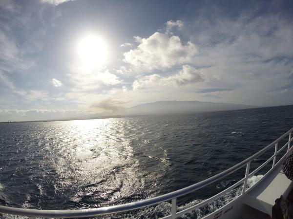 Pride of Maui(プライドオブマウイ)出航!