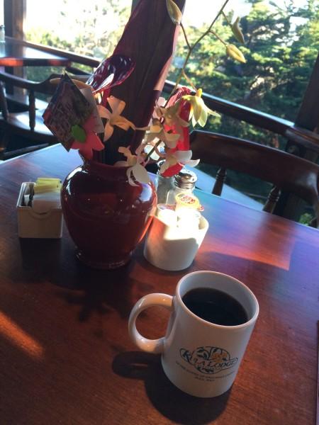 クラロッジのコーヒー