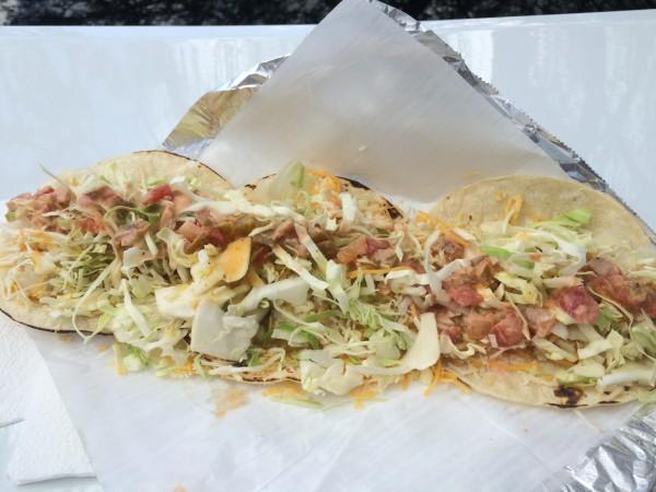 Jaws Fish Tacos(ジョーズフィッシュタコス)のタコス