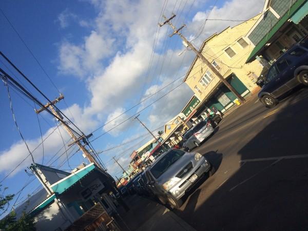 Paia(パイア)の町2
