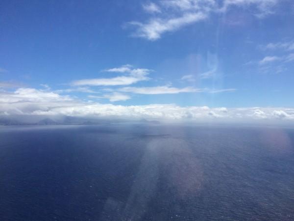 オアフ島が見えてきた!
