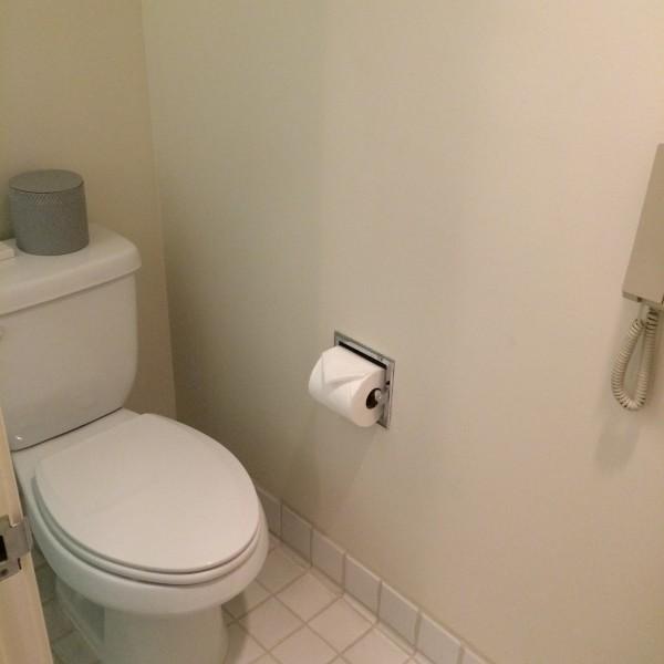 ハレクラニ・お部屋のトイレ
