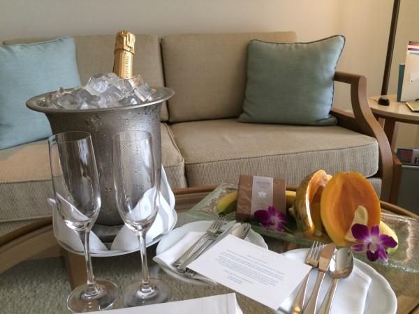 シャンパンのサプライズプレゼント!