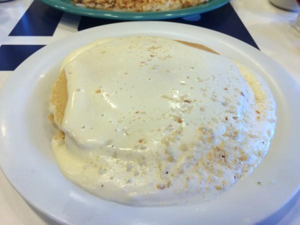 ブーツアンドキモーズのマカデミアナッツパンケーキ