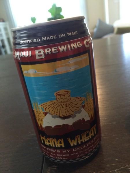 Maui Brewing(マウイブリューイング)のMana Wheat(マナ・ウィート)