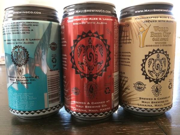 Maui Brewing(マウイブリューイング)の缶ビール