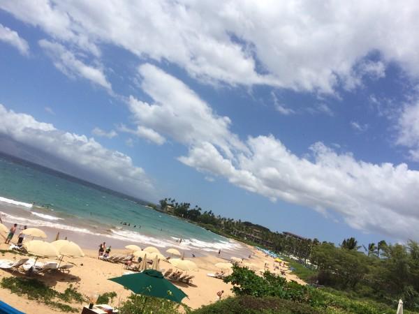 Wailea Beach(ワイレアビーチ)1