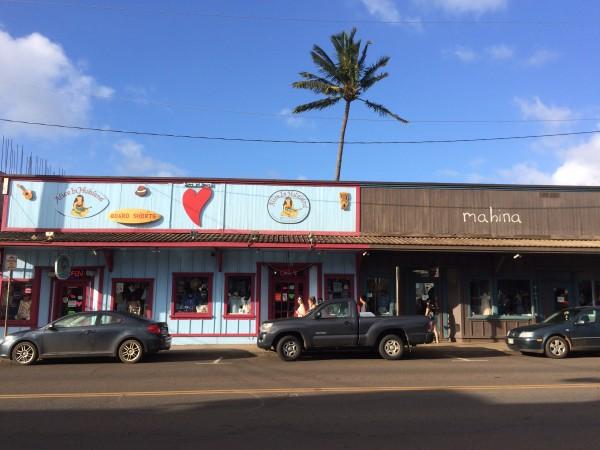 Paia(パイア)の町1