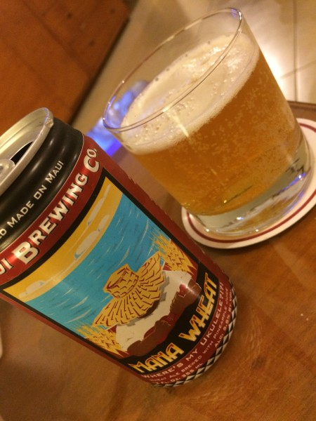 Maui BrewingのMana Wheat(マナウィート)