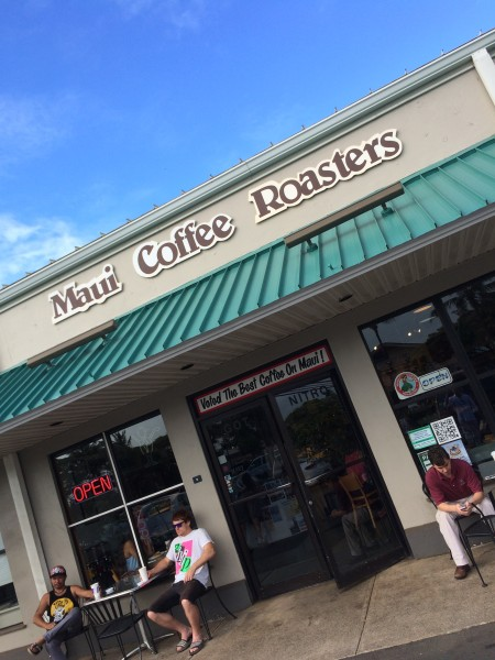 Maui Coffee Roasters外観