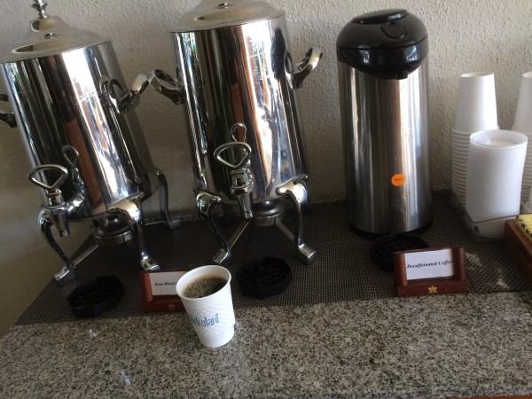ハレクラニ・無料のコーヒーサービス