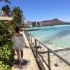 ハワイ旅行記2015 Vol.18 – ハレクラニのオーキッド・プール(2)とワイキキビーチ