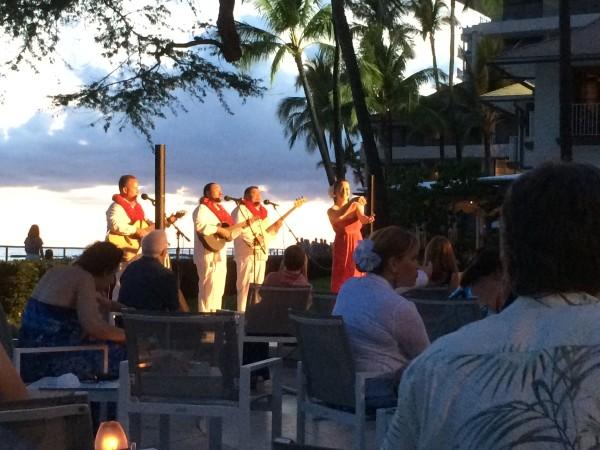 ミス・ハワイによるフラ・ショー