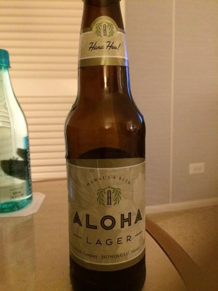 ALOHAビール