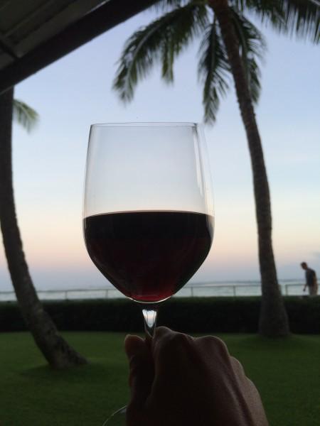 フルボディの赤ワイン(グラス)