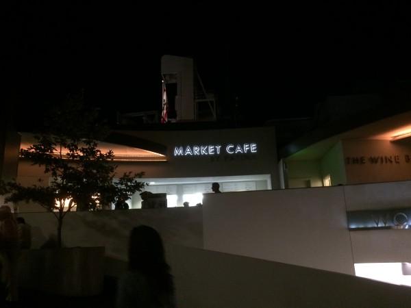 ハリウッドボウルのカフェ