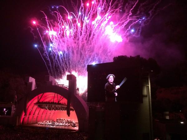 ハリウッドボウルの花火