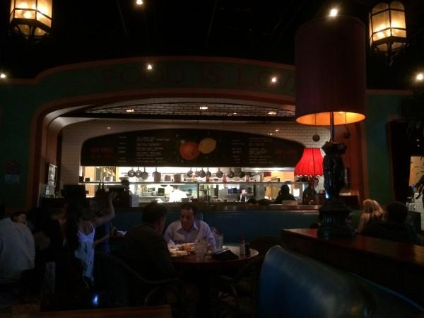 Le Grand Orange Cafe 店内
