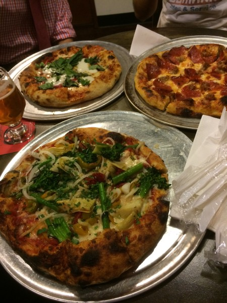 The Luggage Room Pizzeriaのピザ