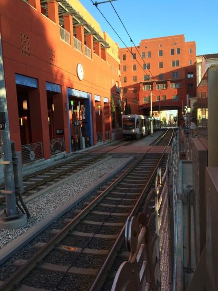 Gold Line MetroのDel Mar駅