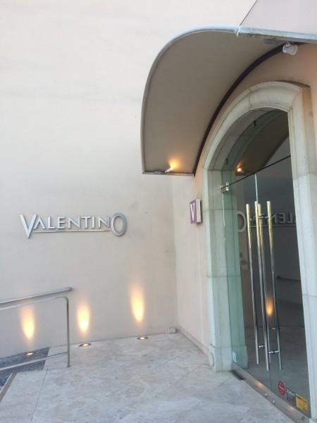 Valentino(ヴァレンチノ)入り口