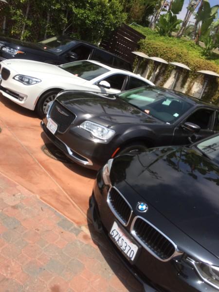 Geoffrey's駐車場