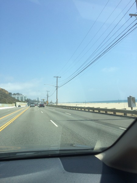 マリブからサンタモニカへの道