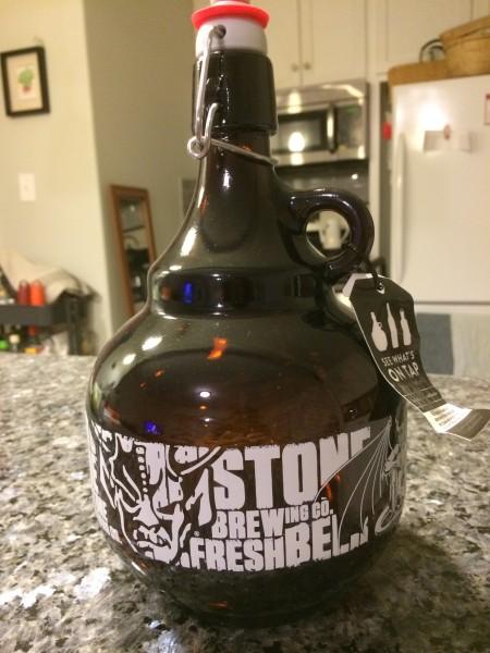 ストーンビール・グラウラー