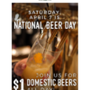 National Beer Day! Great Maple(グレート・メープル)でおトクなディナー!