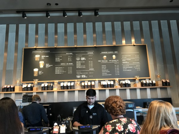 Starbucks Reserve Bar