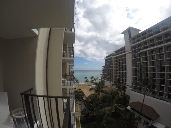 ハレクラニ・ガーデンビュールームからの眺め