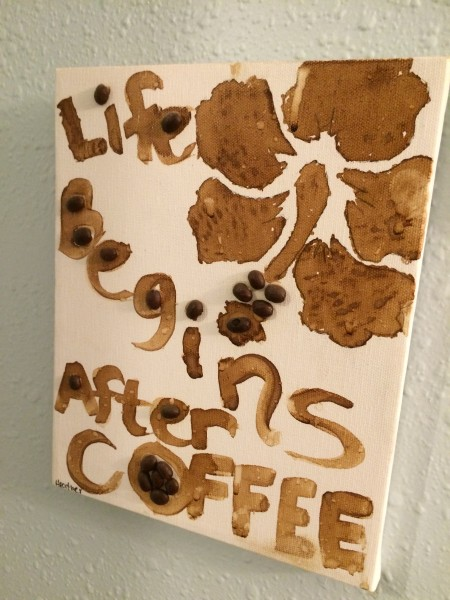 Maui Coffee Roastersのアート